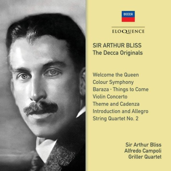 Arthur Bliss: The Decca Originals