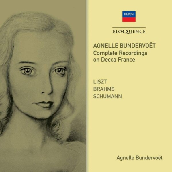 Agnelle Bundervoet: Complete Recordings on Decca France