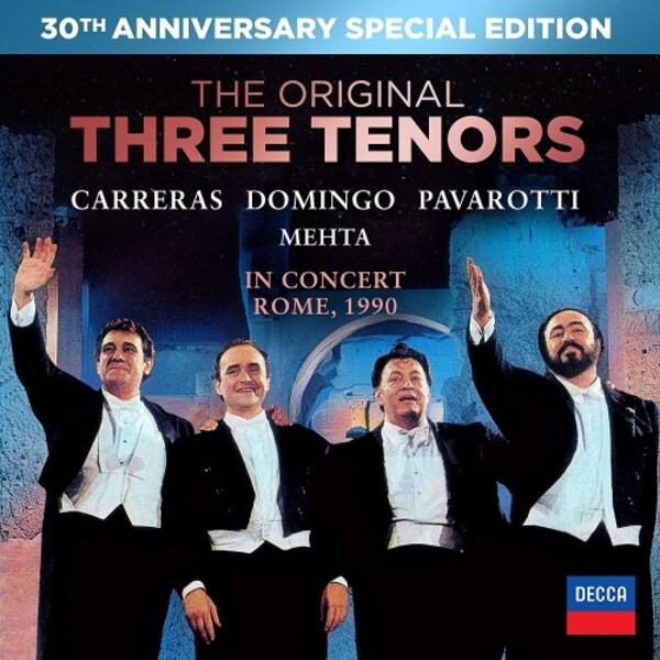 The Original Three Tenors 30th Anniversary Edition (DVD + CD)