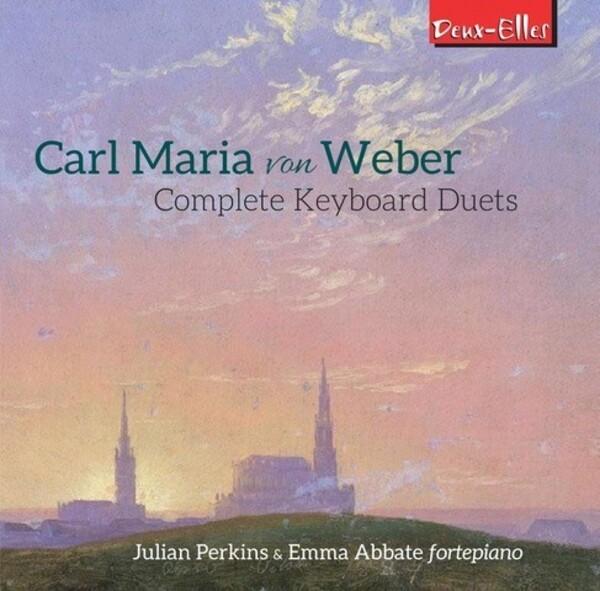 Weber - Complete Keyboard Duets | Deux Elles DXL1184
