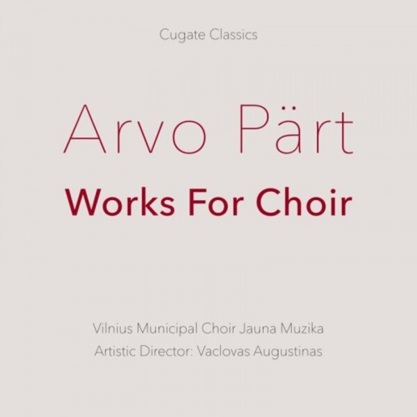 Part - Works for Choir
