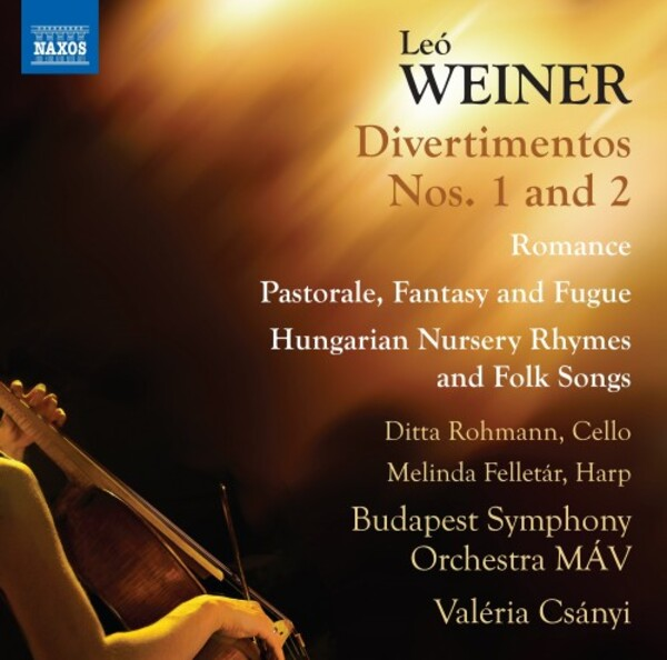 Weiner - Complete Works for Orchestra Vol.3: Divertimentos 1 & 2, etc.