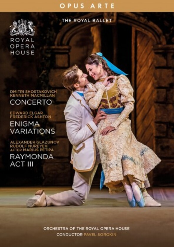 The Royal Ballet: Concerto, Enigma Variations, Raymonda Act 3 (DVD)
