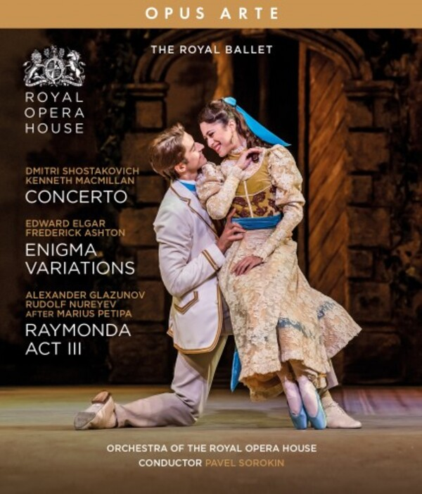 The Royal Ballet: Concerto, Enigma Variations, Raymonda Act 3 (Blu-ray)