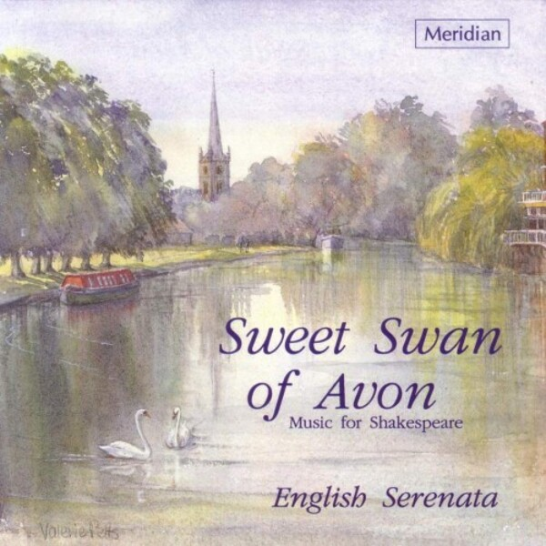 Sweet Swan of Avon: Music for Shakespeare | Meridian CDE84301