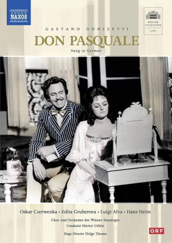 Donizetti - Don Pasquale (sung in German) (DVD)