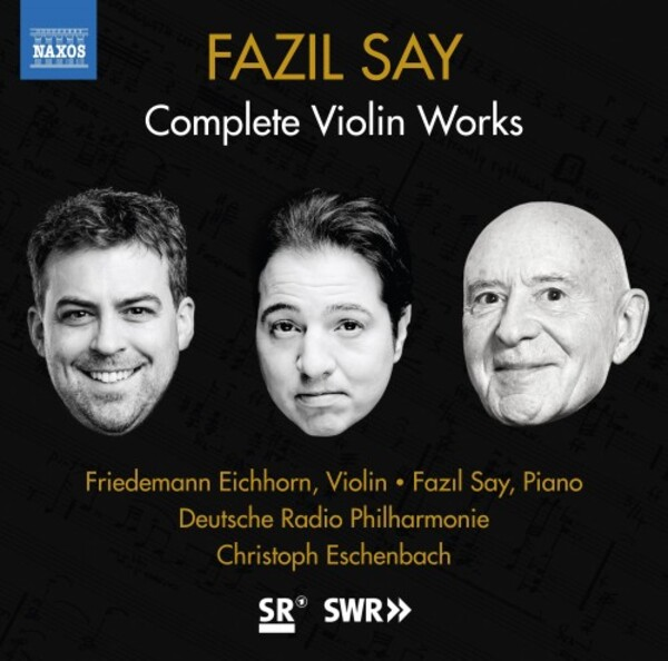 Say - Complete Violin Works | Naxos 8574085