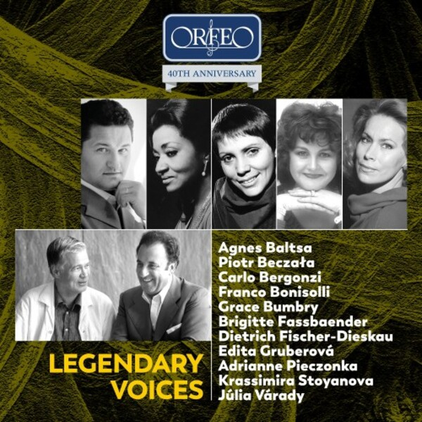 Orfeo 40th Anniversary Edition: Legendary Voices | Orfeo C200021