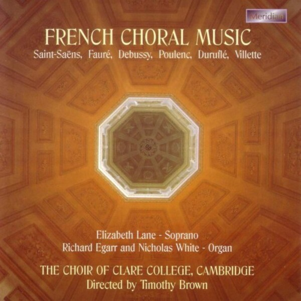French Choral Music | Meridian CDE84370