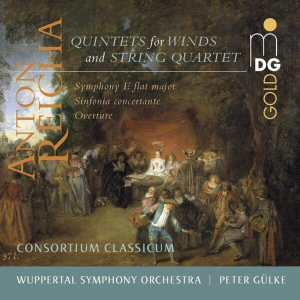 Reicha - Quintets for Winds & String Quartet, Symphony in E flat, Sinfonia Concertante