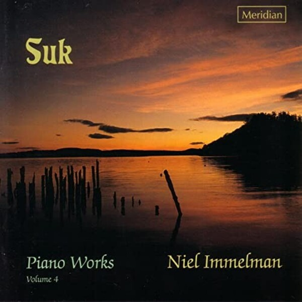Suk - Piano Works Vol.4 | Meridian CDE84442