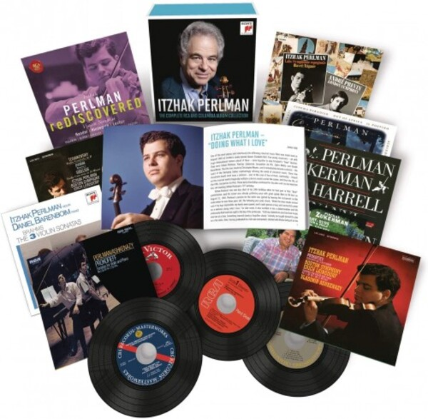 Itzhak Perlman: The Complete RCA and Columbia Album Collection | Sony 19439752272