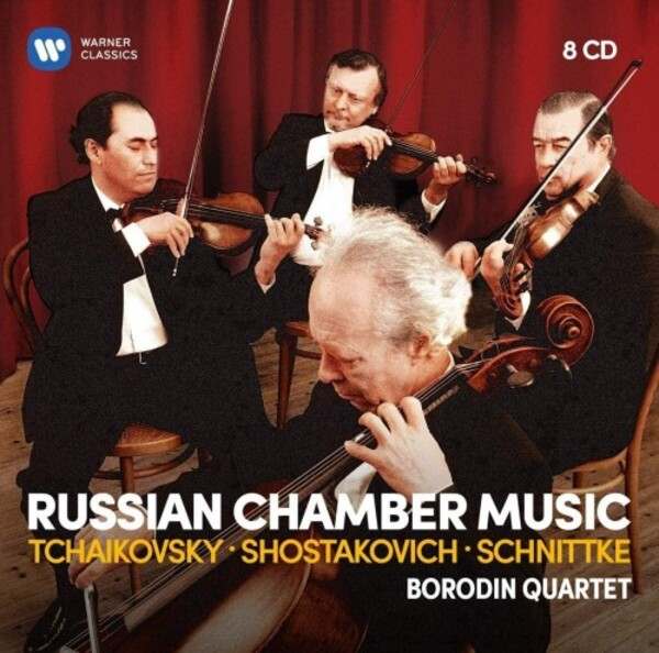 The Borodin Quartet play Russian Chamber Music by Tchaikovsky, Shostakovich, Schnittke etc.