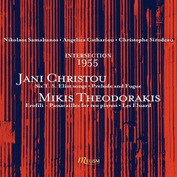 Christou & Theodorakis - Intersection: 1955 | Melism Records MLSCD026