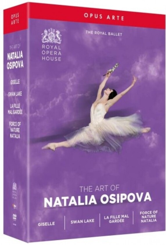 The Art of Natalia Osipova: Giselle, Swan Lake, La Fille mal gardee, Natalia (DVD)