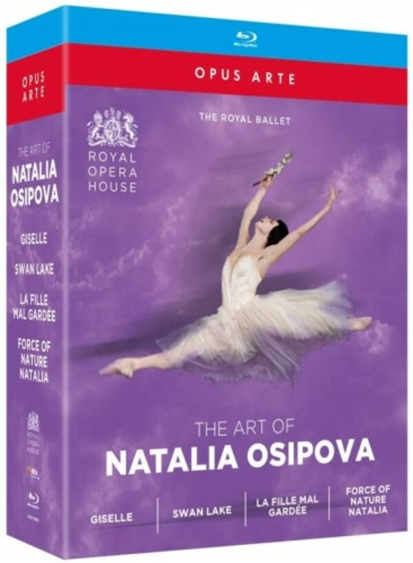 The Art of Natalia Osipova: Giselle, Swan Lake, La Fille mal gardee, Natalia (Blu-ray)