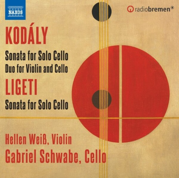 Kodaly & Ligeti - Sonatas for Solo Cello