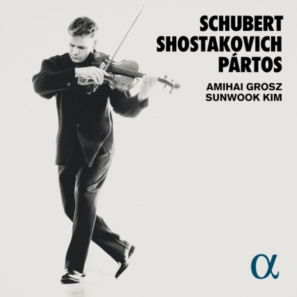Schubert, Shostakovich & Partos - Works for Viola & Piano