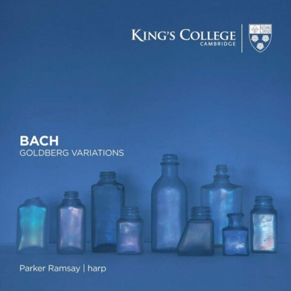 JS Bach - Goldberg Variations (arr. for harp) | Kings College Cambridge KGS0049