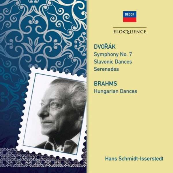 Dvorak - Symphony no.7, Slavonic Dances, Serenades; Brahms - Hungarian Dances