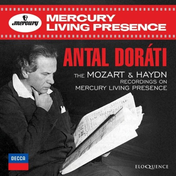 Antal Dorati: The Mozart & Haydn Recordings on Mercury Living Presence