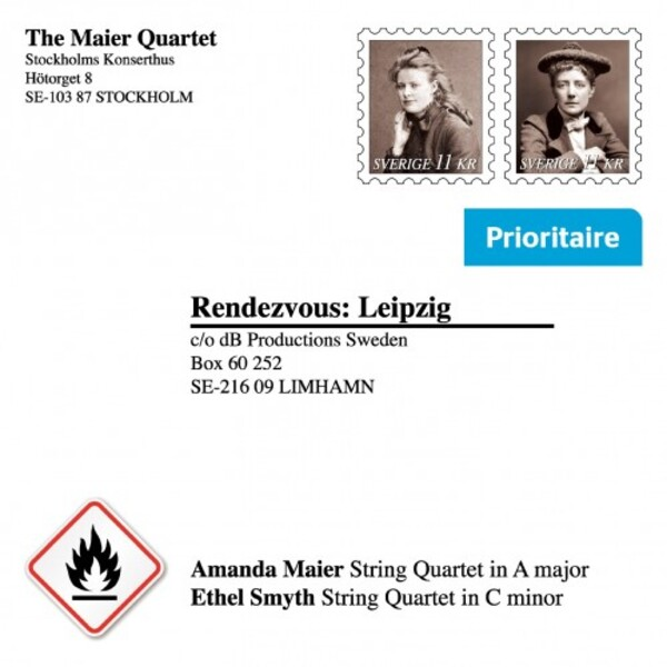 Rendezvous: Leipzig - String Quartets by Maier & Smyth