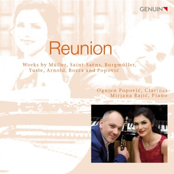 Reunion: Works for Clarinet & Piano | Genuin GEN20557
