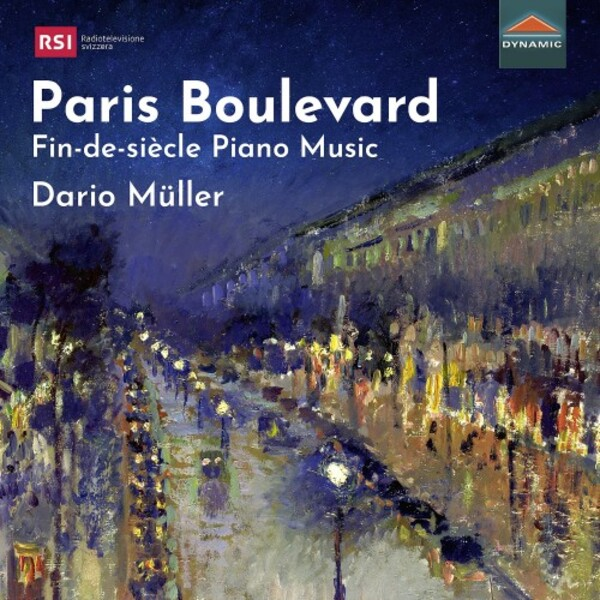 Paris Boulevard: Fin-de-siecle Piano Music