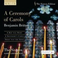 Britten - A Ceremony of Carols | Coro COR16034