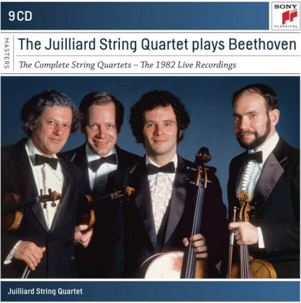 Beethoven - Complete String Quartets (1982 Live Recordings)