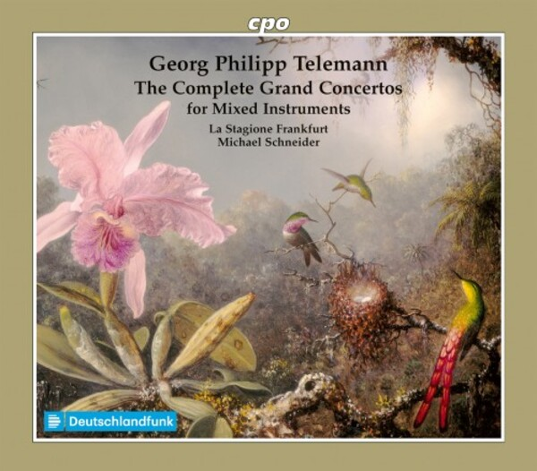 Telemann - Complete Grand Concertos for Mixed Instruments