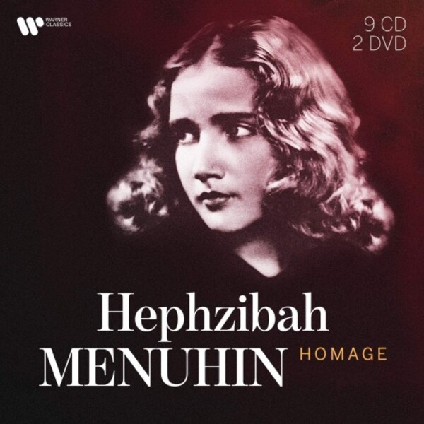 Hephzibah Menuhin: Homage (CD + DVD) | Warner 9029527031