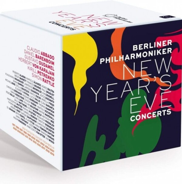 Berliner Philharmoniker New Year's Eve Concerts (Blu-ray)