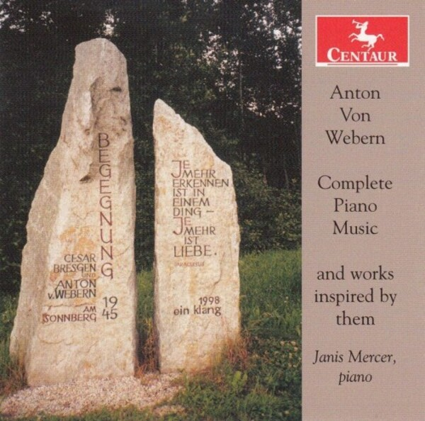 Webern - Complete Piano Pieces and Works Inspired by Them | Centaur Records CRC3771
