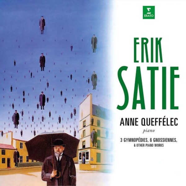Satie - Gymnopedies, Gnossiennes & Other Piano Works (Vinyl LP) | Erato 9029507884