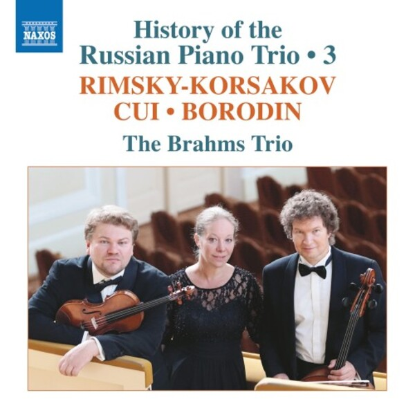 History of the Russian Piano Trio Vol.3: Rimsky-Korsakov, Cui, Borodin | Naxos 8574114