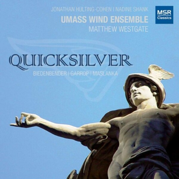Quicksilver: Music for Saxophone, Piano and Wind Ensemble