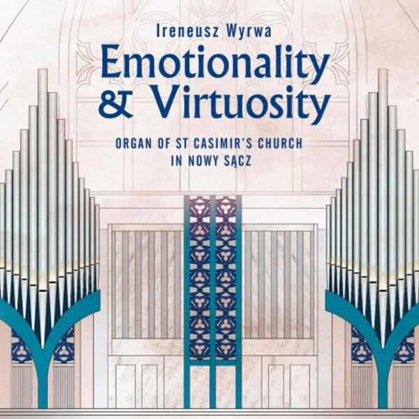 Emotionality & Virtuosity: Organ Works by Mendelssohn, Rheinberger, Reger & Freyer