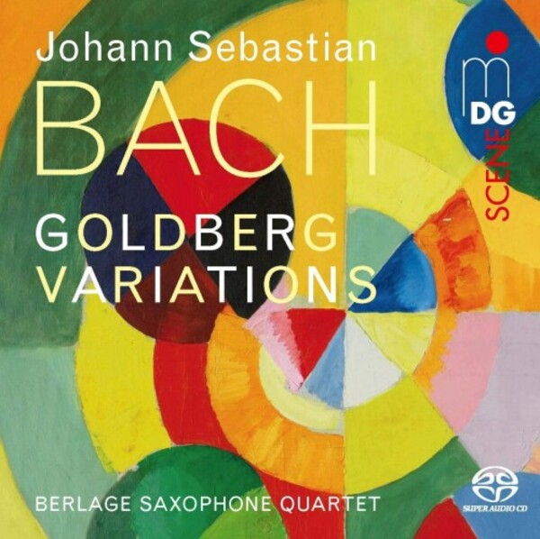 JS Bach - Goldberg Variations (arr. for saxophone quartet)