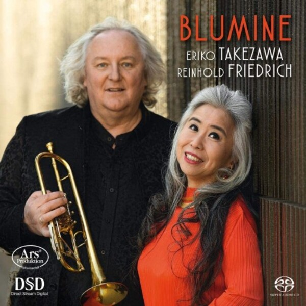 Blumine: Works for Trumpet & Piano by Mahler, R Strauss, Pilss, etc.