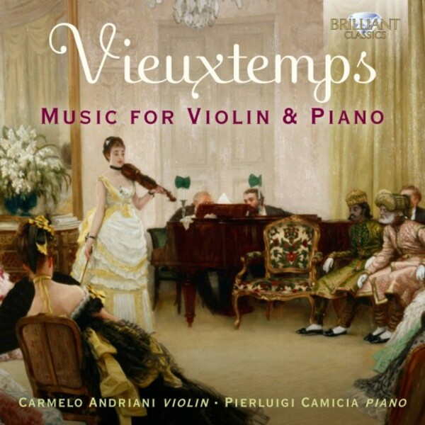 Vieuxtemps - Music for Violin and Piano