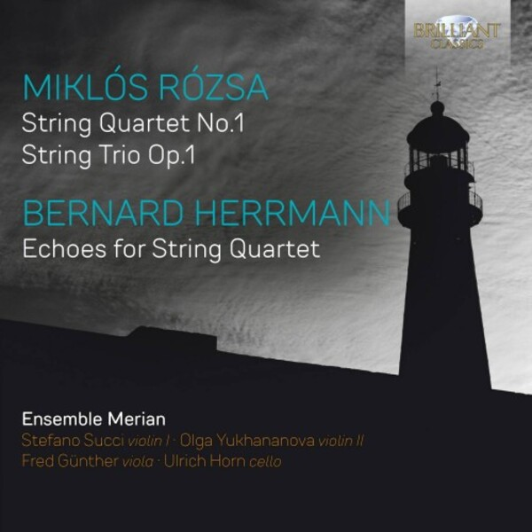 Rozsa & Herrmann - Music for String Quartet