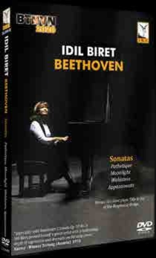 Beethoven - Pathetique, Moonlight, Waldstein & Appassionata Sonatas (DVD)