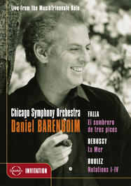 Barenboim and The Chicago Symphony Orchestra | Euroarts 2050136