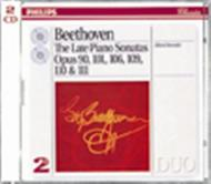 Beethoven: The Late Piano Sonatas | Philips - Duo 4383742