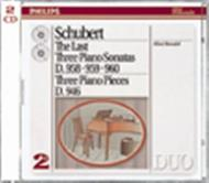 Schubert: The Last Three Piano Sonatas | Philips - Duo 4387032