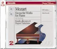 Mozart: Favourite Works for Piano | Philips - Duo 4542442