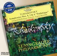"Tchaikovsky: Symphonies Nos.4, 5 & 6 ""Pathetique"" 