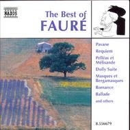 Faure - Best Of | Naxos 8556679