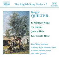Quilter - Songs (English Song, vol. 5)